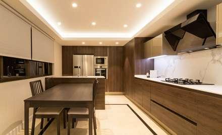 Cocina abierta: Cocinas integrales de estilo  de Keinzo Interiores