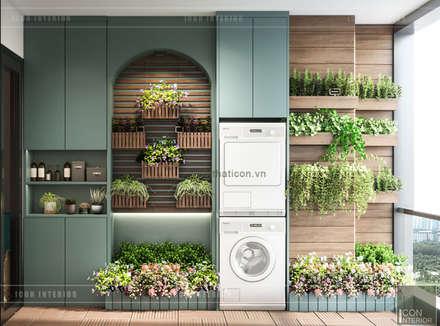 Đẹp Khác Biệt với Thiết kế căn hộ Landmark 81 của ICON INTERIOR:  Vườn by ICON INTERIOR