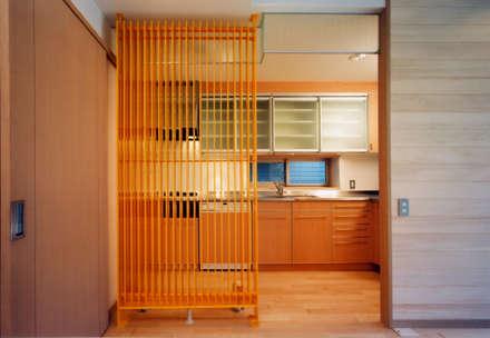 Встроенные кухни в . Автор – アービア設計事務所