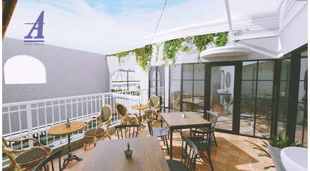 Nhà hàng by Asta Karya Studio