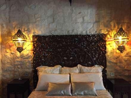 DORMITORIO MATRIMONIO: Dormitorios de estilo industrial de Interiorismo Cemar
