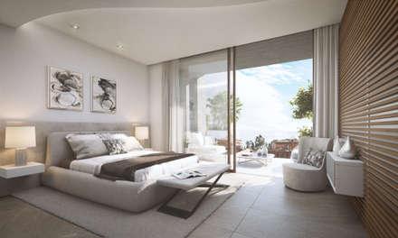 Condominios de estilo  por G&J ARQUITECTURA