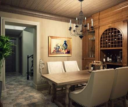 ห้องเก็บไวน์ by Style Home