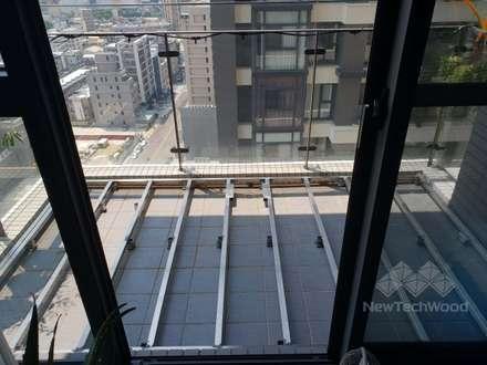 Escaleras de estilo  de 新綠境實業有限公司