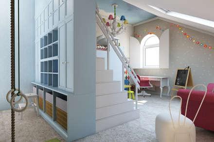 ห้องนอนเด็ก by Style Home