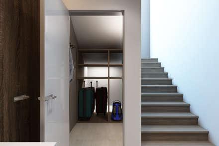 Дизайн-проект загородного дома в пос. Рождествено: Лестницы в . Автор – Style Home