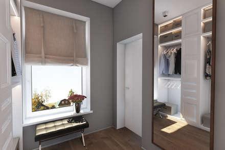 Дизайн-проект загородного дома в пос. Рождествено: Гардеробные в . Автор – Style Home
