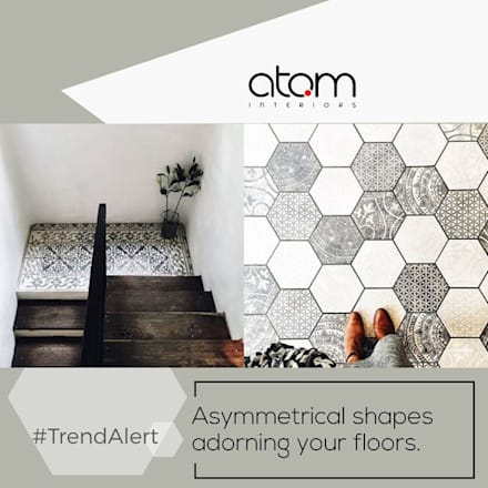 Patterned Floors:  Floors by Atom Interiors