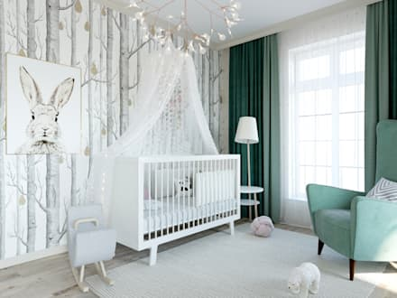 Baby room by Style Home