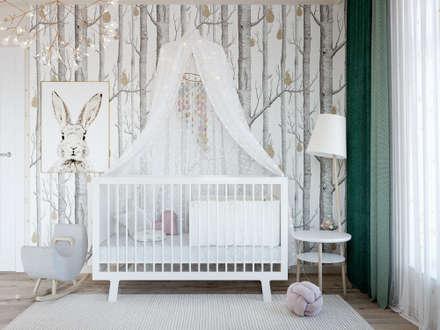 Habitaciones de bebé de estilo  de Style Home