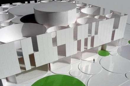 جدران تنفيذ DMDV Arquitectos