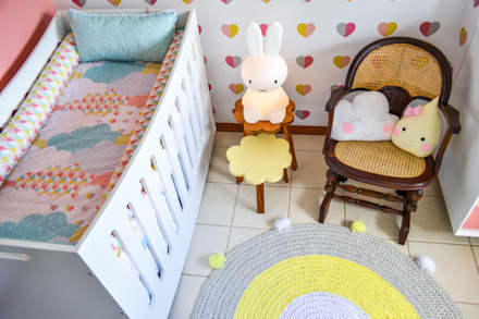 Baby room by CORES - Arquitetura e Interiores