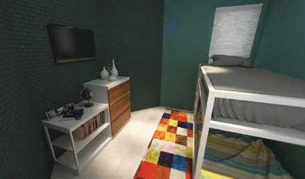 Phòng ngủ của trẻ em by Asta Karya Studio