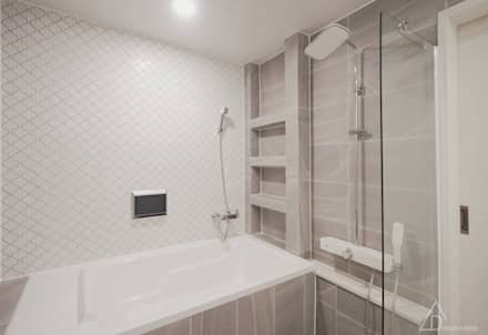 쌍둥이와 함께 하는 공간_송도 웰카운티: 디자인 아버의  화장실
