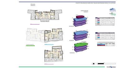 CONCURSO LAS MESAS, ESTEPONA: Casas multifamiliares de estilo  de G&J ARQUITECTURA