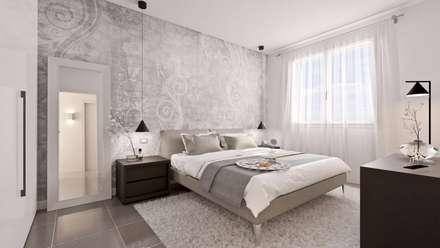 Camera Matrimoniale: Camera da letto in stile in stile Moderno di Gentile Architetto