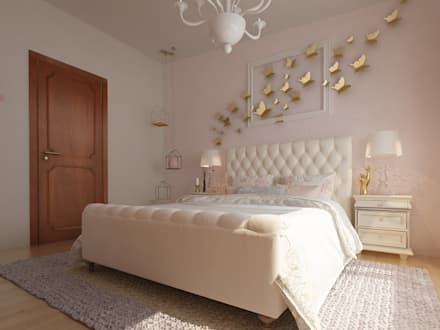 Girls Bedroom by Diseño Integral México