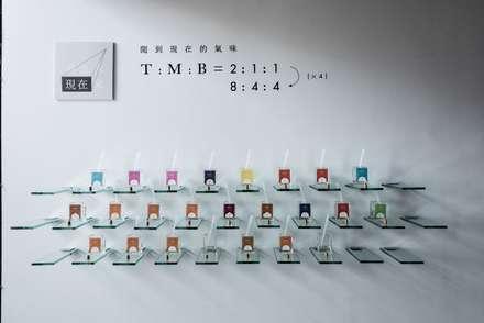 Perfume Showroom_LFP香水香料實驗室:  商業空間 by 有偶設計 YOO Design