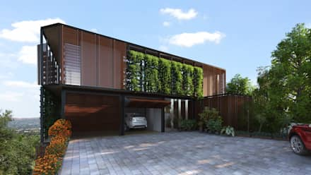 HouseZero - Modular building systems for premium off-grid homes:  Prefabricated Home by HouseZero