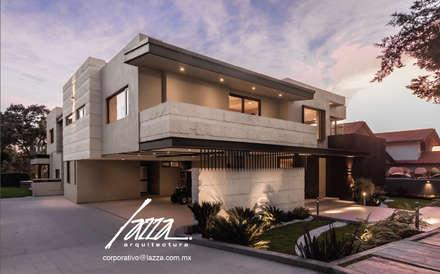 Casas ecológicas de estilo  de Lazza Arquitectos