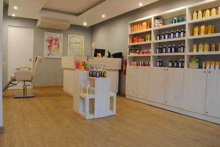 Tienda Welwda: Oficinas y Tiendas de estilo  por Rodrigo Leon Palma