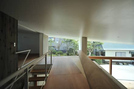 Takeru Shoji Architects.Co.,Ltd의  바닥