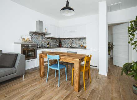Built-in kitchens by DIAGONALE - STUDIO