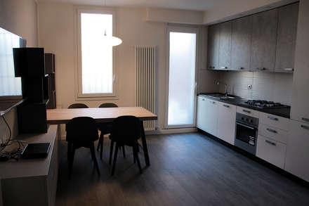 Cucina: Cucina attrezzata in stile  di DIAGONALE - STUDIO