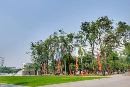 體育館 by PT. Kampung Flora Cipta