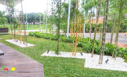 辦公大樓 by PT. Kampung Flora Cipta