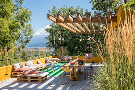 Roof terrace by Moretti MORE