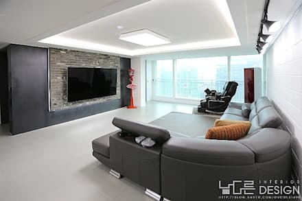 Modern Living Room By 남다른디자인 Photo Gallery