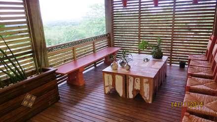 Casas de campo de estilo  por Escritorio de Arquitetura Karina Garcia