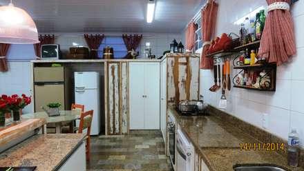 Módulos de cocina de estilo  de Escritorio de Arquitetura Karina Garcia