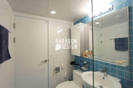 마장동 중앙하이츠: 바라봄디자인의  화장실