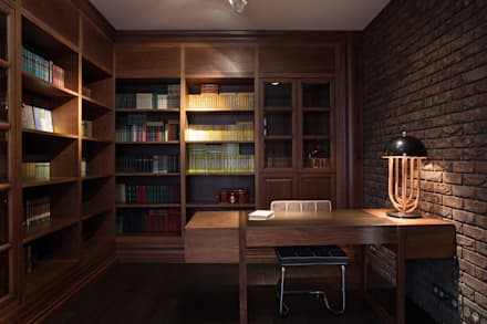 Phòng giải trí by Архитектурная студия Чадо