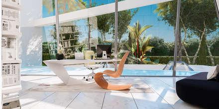 VILLA EN LOS MONTEROS, MARBELLA: Villas de estilo  de G&J ARQUITECTURA