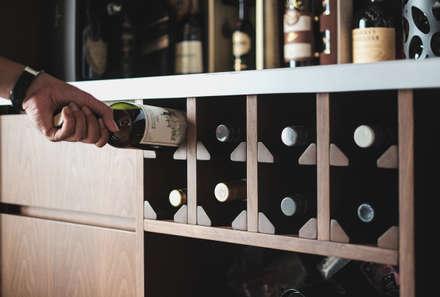 Hầm rượu by FIANO INTERIOR