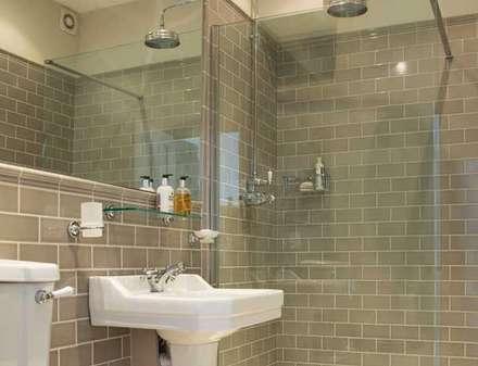 Town House Brighton: classic Bathroom by Pfeiffer Design Ltd