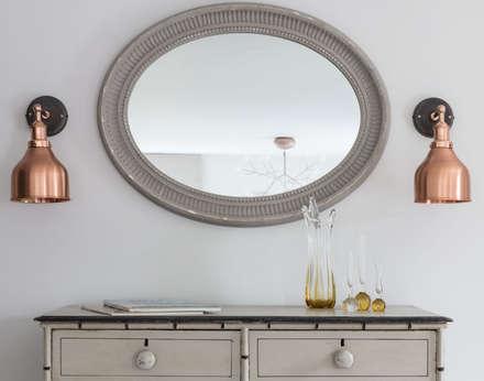 Rural Retreat: classic Dressing room by Pfeiffer Design Ltd