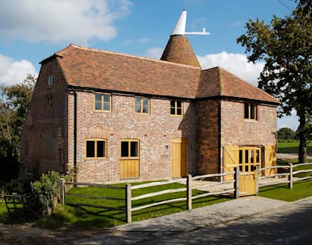 Oast House Restoration: country Houses by Pfeiffer Design Ltd
