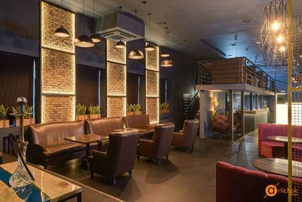 Дизайн интерьера кальян-бара в индустриальном стиле: Бары и клубы в . Автор – Art-i-Chok