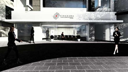 Clínicas y consultorios médicos de estilo  por AOI Arquitetura