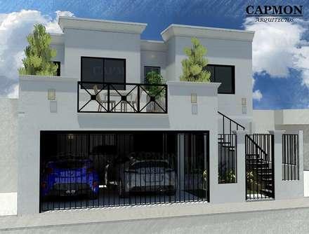 Garajes abiertos de estilo  de CAPMON