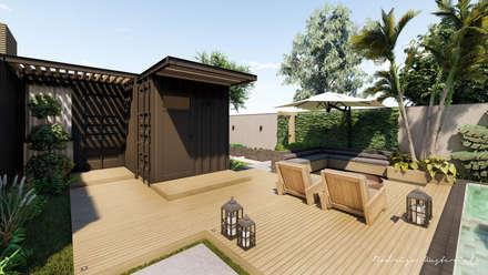 Передний двор в . Автор – Rodrigo Westerich - Design de Interiores