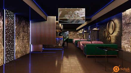 Дизайн ресторана в стиле лофт и фьюжн: Ресторации в . Автор – Art-i-Chok