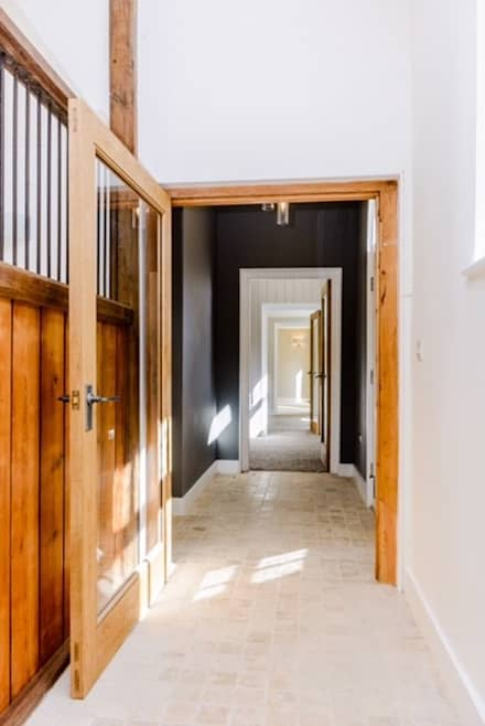 Internal Hallway:  Inside doors by Crafted Architects