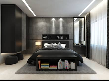 modern Bedroom by Spaces Alive