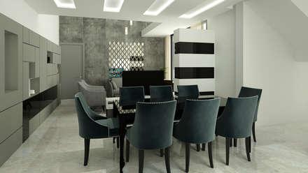 moderne Esszimmer von Spaces Alive