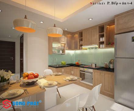 Встроенные кухни в . Автор – laixaynhapho92